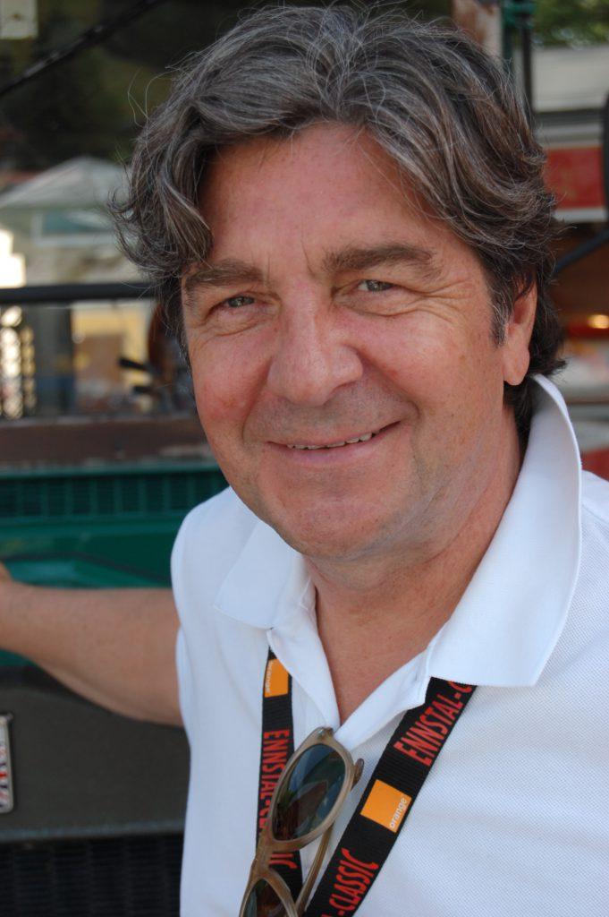 Christian Geistdörfer, deutscher Motorsportler, lange Zeit Copilot von Walter Röhrl