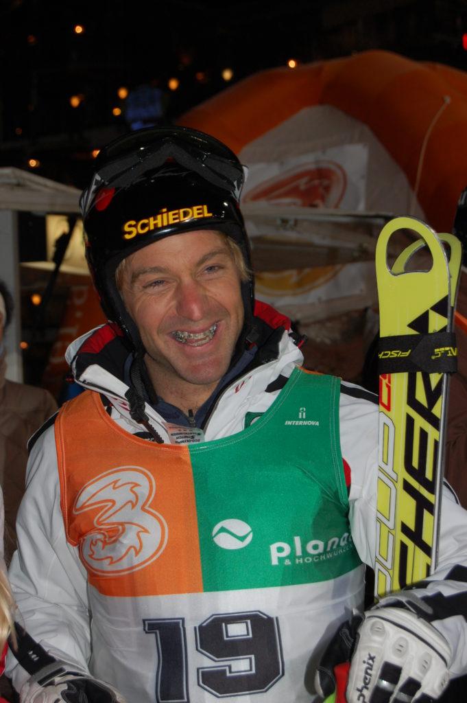 Hans Knauss, ehemaliger österr. Skirennfahrer und ORF-Cokommentator
