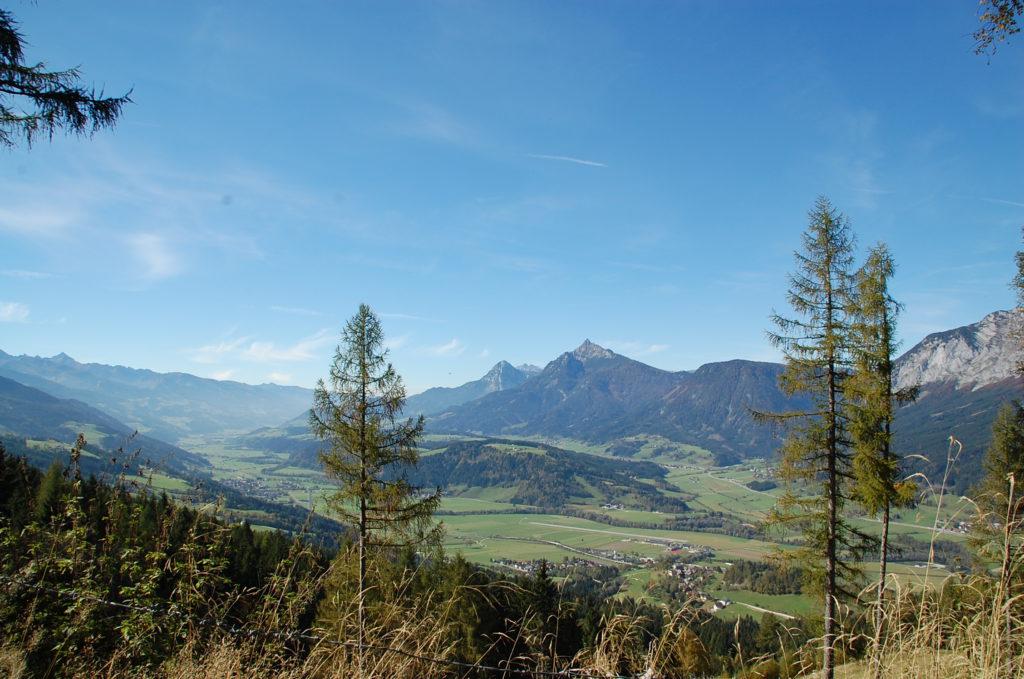 Ennstal-Blick Richtung Westen