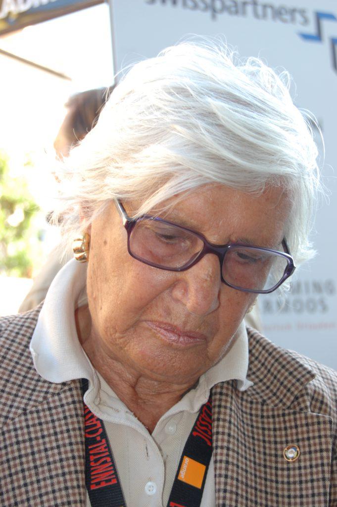 Maria Teresa de Filippis, ehemalige ital. Automobilrennfahrerin (verstorben Jänner 2016)