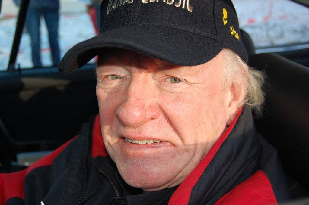 """Rallye-Professor"" Rauno Aaltonen aus Finnland"