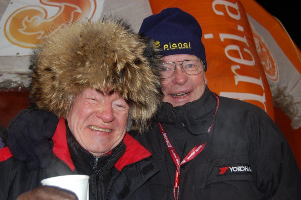 """Rallye-Professor"" Rauno Aaltonen und Björn Waldegard"