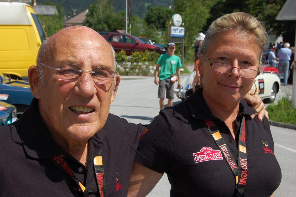 Sir Stirling und Lady Susie Moss