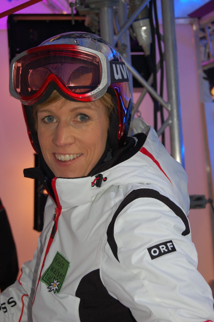 Steffi Schuster, ehemalige österr. Skirennläuferin