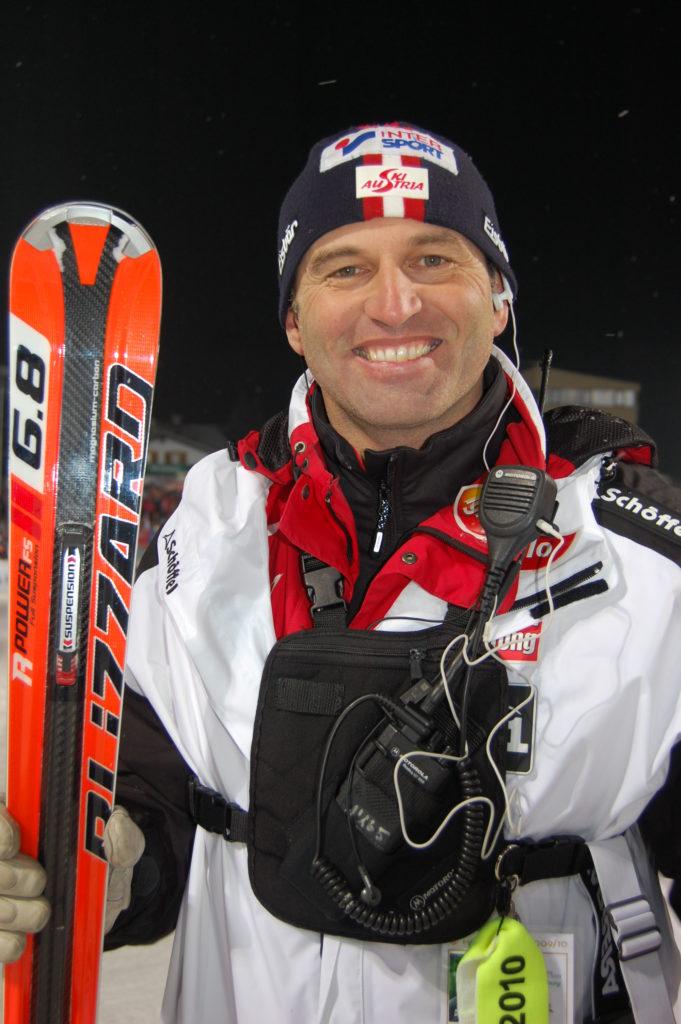 Toni Giger, ehemaliger österr. Alpinskitrainer